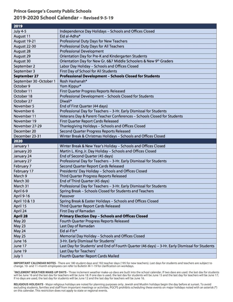 Pgcps Calendar 2022.P G C P S C A L E N D A R 2 0 2 0 2 0 2 1 Zonealarm Results