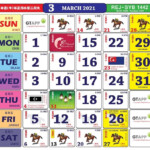 2021 Calendar With Monthly Malaysian Holidays Released