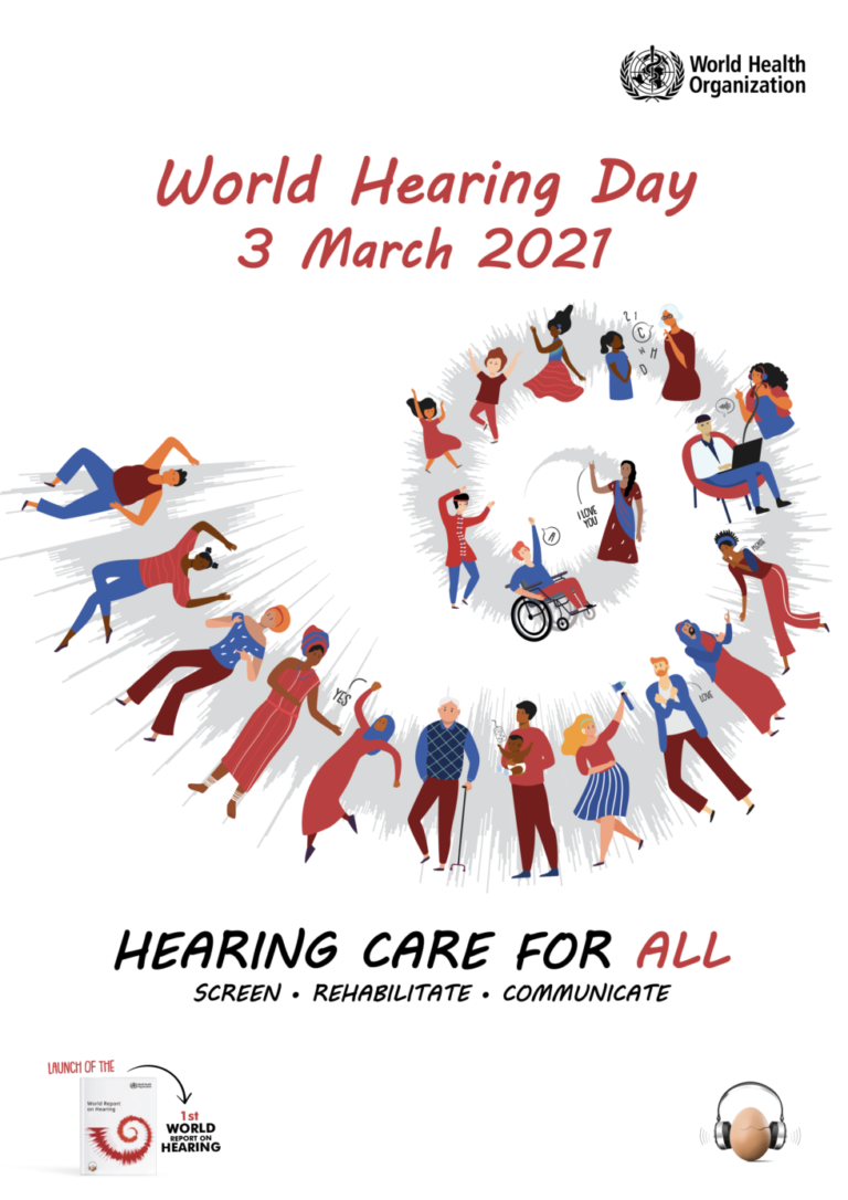 World Hearing Day Is March 3, 2021 – Silencity
