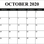 Printable Yearly Calendar 2020 Template With Holidays