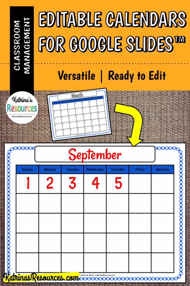 This Pack Includes Ten Printable Calendars That Are Fully